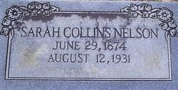 """Sarah E. """"Lena"""" <I>Collins</I> Nelson"""