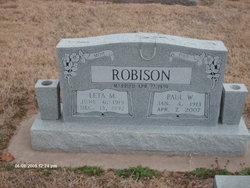 Leta May <I>Bingamon</I> Robison