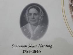 Susannah <I>Shute</I> Harding
