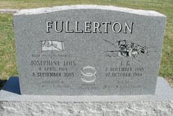 """Josephine Lois """"Jo"""" <I>Poyser</I> Fullerton"""