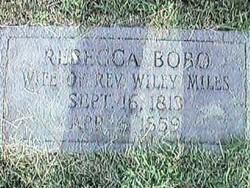 Rebecca <I>Bobo</I> Miles