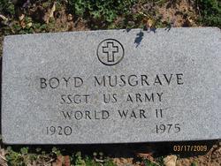 James Boyd Musgrave