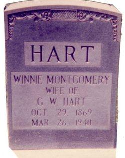 Winnie <I>Montgomery</I> Hart