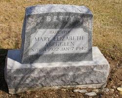 """Mary Elizabeth """"Betty"""" Abegglen"""