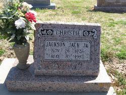 Jackson Jack Christie, Jr
