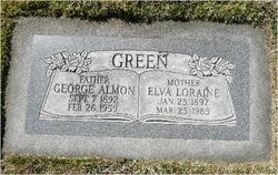 Elva Loraine <I>Staker</I> Green