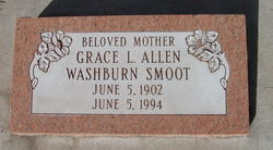 Grace Louise <I>Allen</I> Washburn Smoot