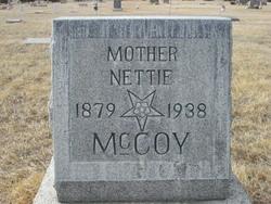 """Mary Janette """"Nettie"""" <I>Wheeler</I> McCoy"""