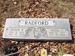 Hazel Irene <I>Leftridge</I> Radford