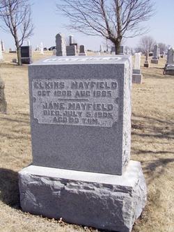 Jane <I>Bain</I> Mayfield