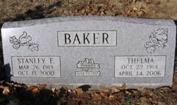 Thelma Ellen <I>Forster</I> Baker