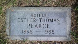 Esther Lula <I>Thomas</I> Pearce