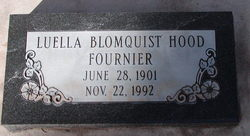 Luella <I>Blomquist</I> Fournier