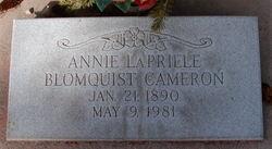 """Lapriele Blomquist """"Annie"""" Cameron"""