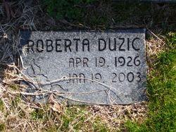 Roberta Mae <I>Jones</I> Duzic