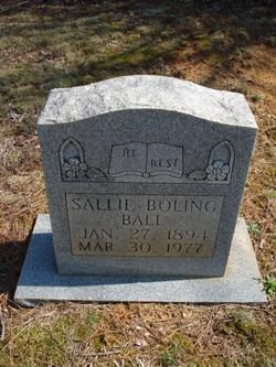 Sallie <I>Boling</I> Ball