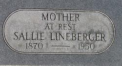 "Sarah A ""Sallie"" <I>Green</I> Lineberger"