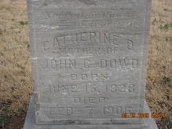 Catherine DeRoussett <I>Sampson</I> Dowd
