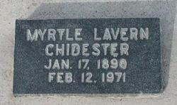 Myrtle Laverne Chidester
