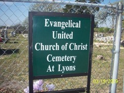 Evangelical United Church of Christ Cemetery