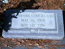 Pharaba Mariah <I>Posey</I> Strickland