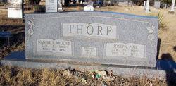 Nannie B. <I>Brooks</I> Thorp