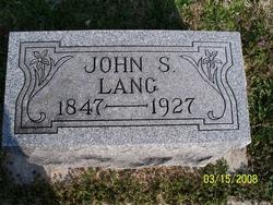 John S Lang