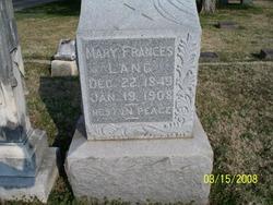Mary Frances Lang