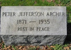 Peter Jefferson Archer