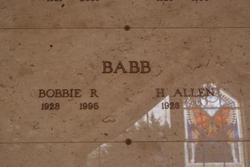 Bobbie R Babb