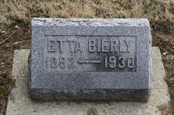 Etta <I>Kelley</I> Bierly