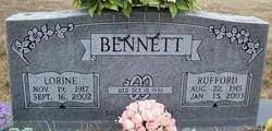 Bessie Lorine <I>Mitchell</I> Bennett