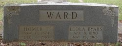 Leola <I>Byars</I> Ward