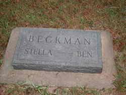 Stella Jane <I>Baker</I> Beckman