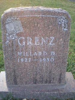 Willard D Grenz