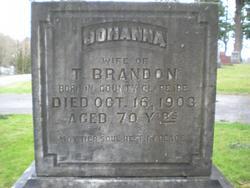 Johanna <I>Curry</I> Brandon