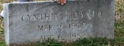 Cynthia <I>Ashworth</I> Howard
