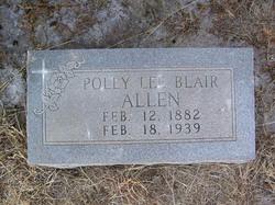 Polly Lee <I>Blair</I> Allen