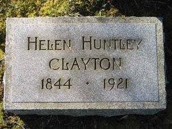Helen Huntley <I>Hampton</I> Clayton