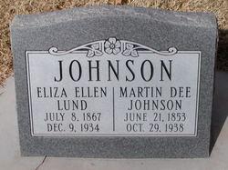 Eliza Ellen <I>Lund</I> Johnson