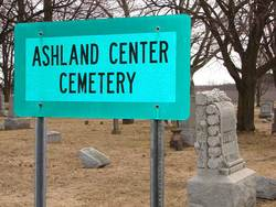 Ashland Center Cemetery