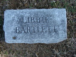 "Elizabeth H. ""Libbie"" <I>Hill</I> Bartlett"
