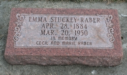 Emma <I>Stuckey</I> Raber