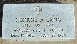 George A. Lang