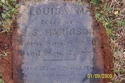Louisa Matilda <I>McDaniel</I> Harrison