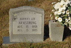 Johnny Lee Armstrong