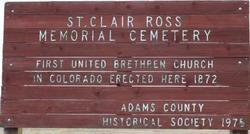 Saint Clair Ross Memorial Cemetery