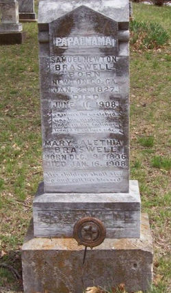 Mary Alethia <I>Anderson</I> Braswell