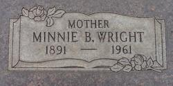 Minnie Belle <I>Cheatham</I> Wright
