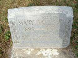 Mary Jane <I>Mitchell</I> Barrow